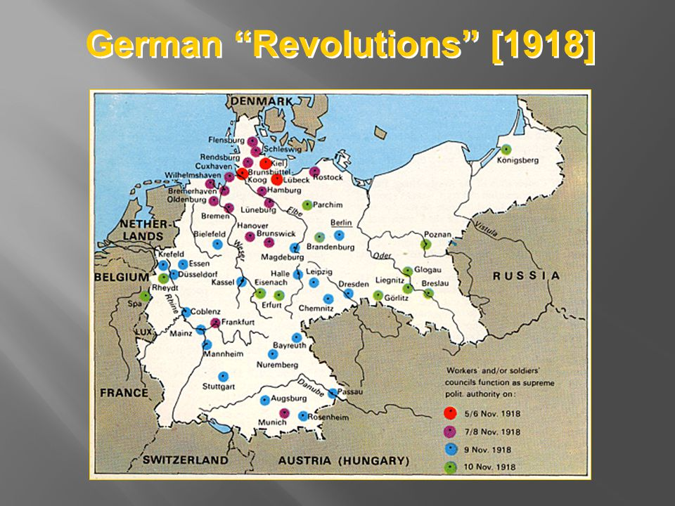 German Revolutions [1918]
